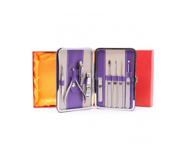 Trusa profesionala manichiura, pedichiura 9 piese - TM9P