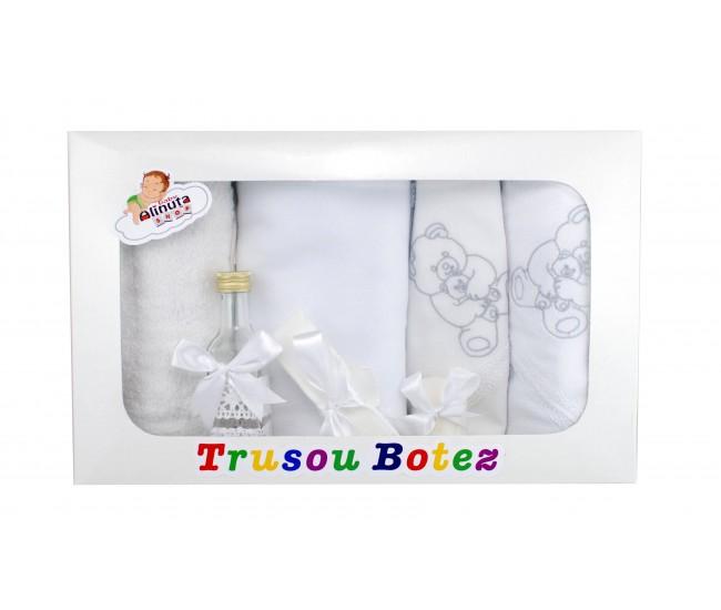 Trusou personalizat pentru botez fetite si baieti - set biserica TB21562