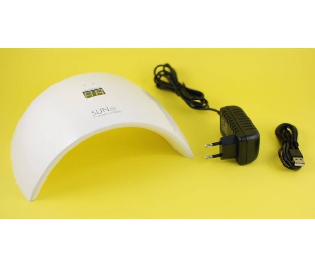 Lampa LED UV digitala SUN 9S 24W pentru uscare rapida, cu temporizator