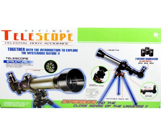 Telescop de jucarie cu busola pentru copii - 2105