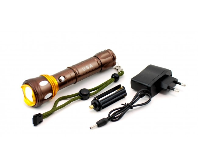 Lanterna reincarcbila cu LED CREE Q5 - Waterproof and shockproof