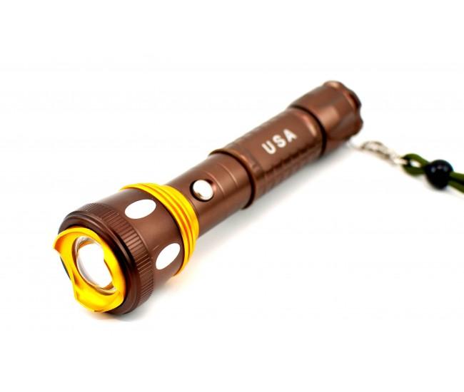 Lanterna reincarcbila cu LED CREE Q5 - Waterproof and shockproof