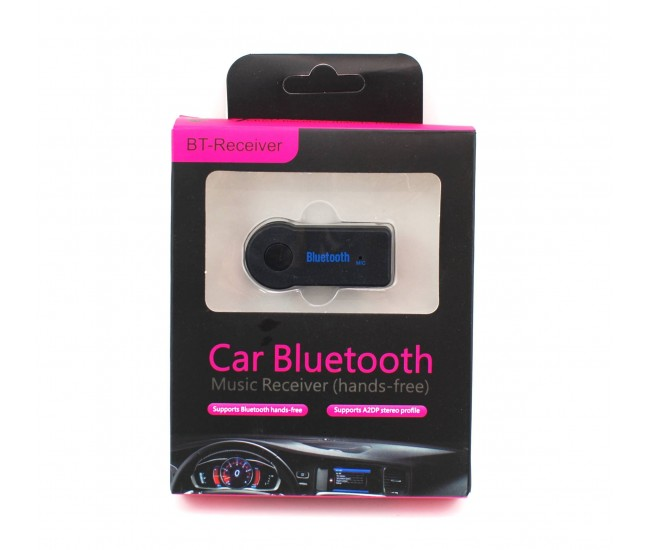 Receptor bluetooth auto pentru masina - Conectare prin bluetooth la sistem audio, boxa, radio CD etc.