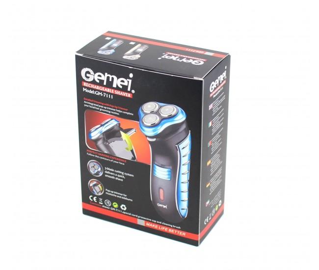 Aparat electric de ras GEMEI / Trusa barbierit / Trimmer GM7111