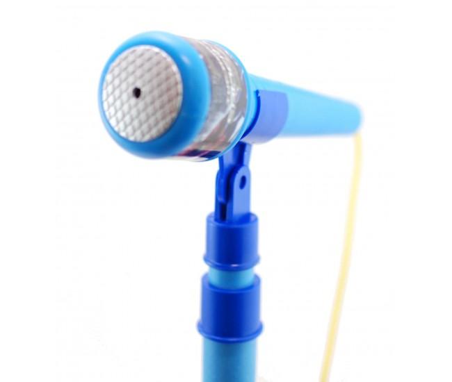Microfon de jucarie Spiderman, karaoke pentru copii cu amplificator voce si inaltime ajustabila 5837