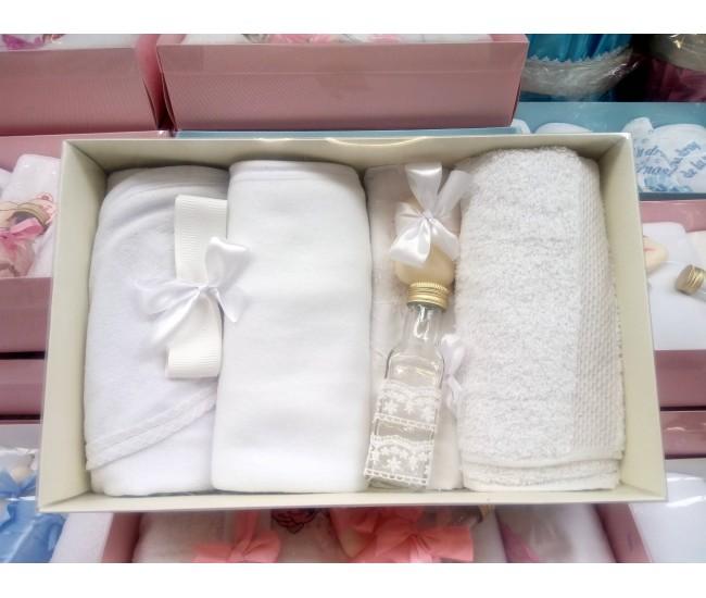 Trusou personalizat pentru botez fetite si baieti - set pentru biserica TB855