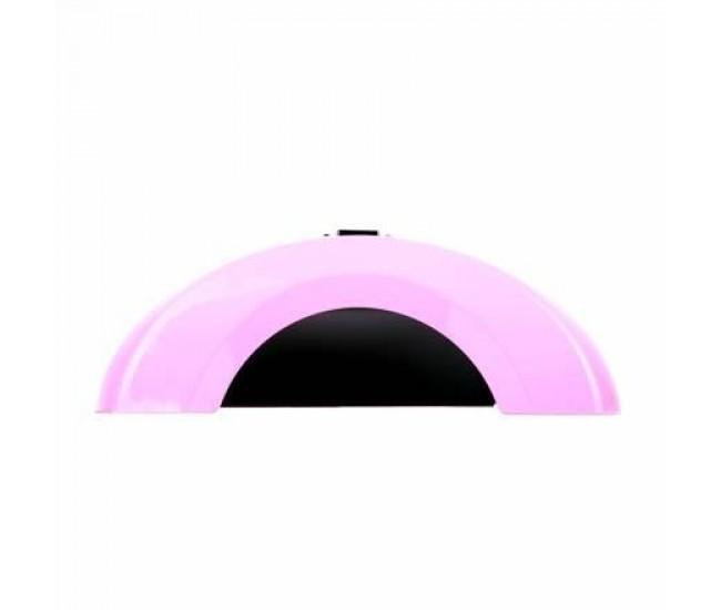 Lampa manichiura LED 12W Roz