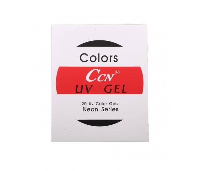 Set 20 de geluri colorate CCN NEON SERIES