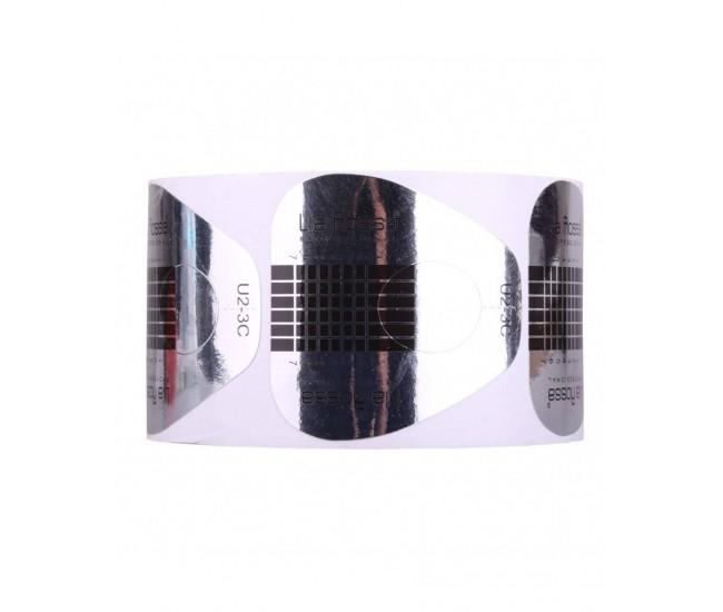 Sabloane pentru unghii late silver U2-3C