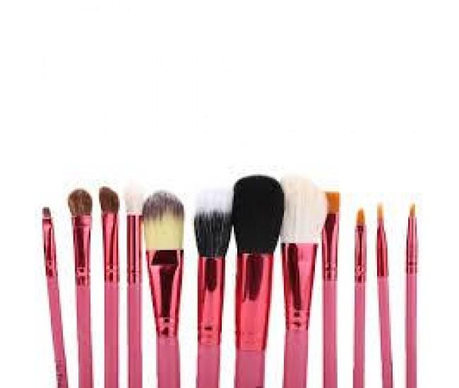 Pensule Make-up Lila Rossa  12bucati PMU12LR