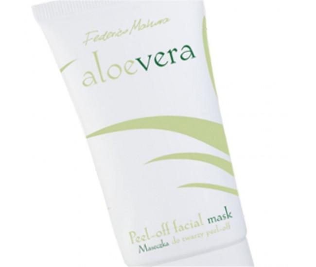 Masca Peel-Off pentru fata Aloe Vera 50ml AV2