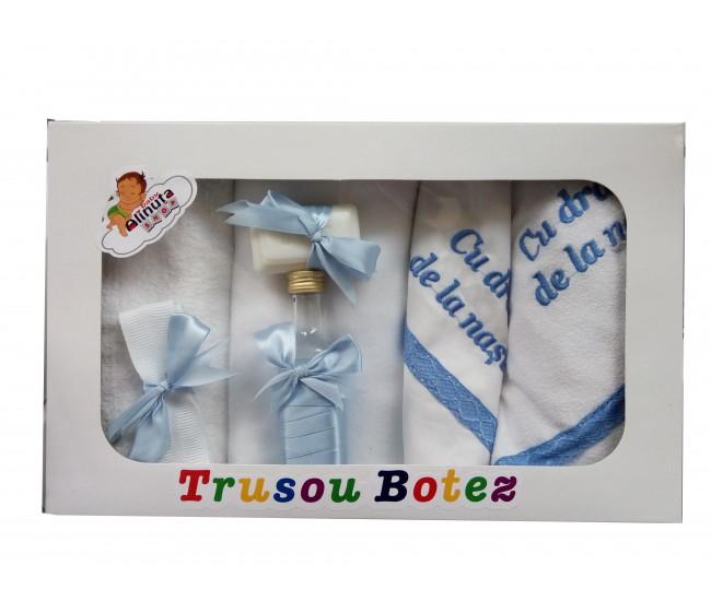 "Trusou botez feite si baieti "" Cu drag de la nasi"" - TB99162"