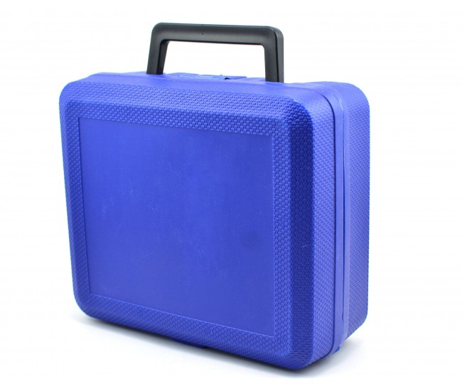 Compresor auto portabil, cu lanterna 12V (bricheta) - 63145