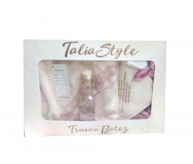 Trusou Botez pentru fetite - set complet pentru biserica Talia01