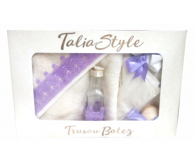 Trusou Botez pentru fetite - set complet pentru biserica Talia02