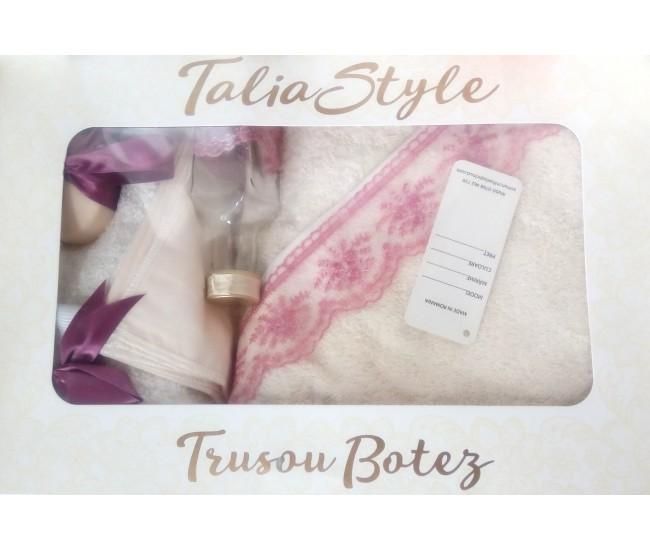 Trusou Botez pentru fetite - set complet pentru biserica Talia04