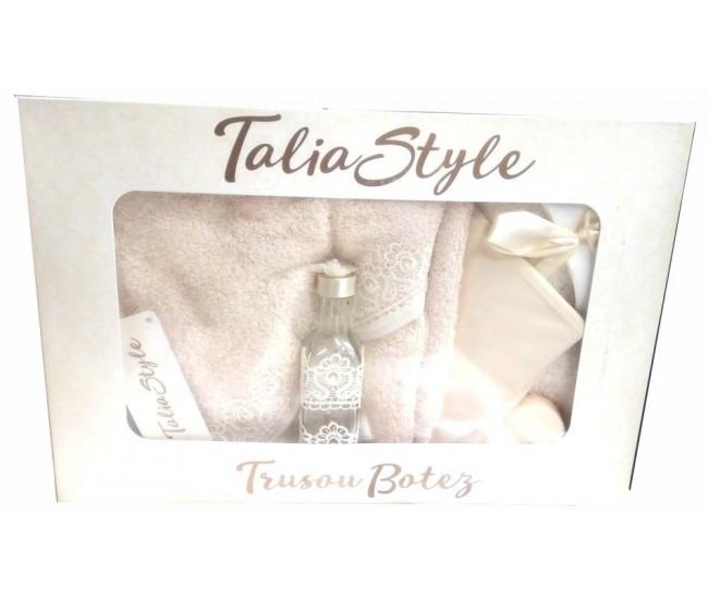 Trusou Botez pentru fetite - set complet pentru biserica Talia03