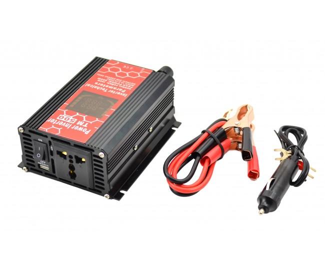 Invertor auto 500W Chaomin CPU CONTROL 12V - 220V cu iesire USB