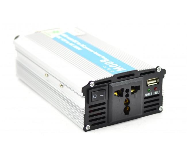 Invertor auto 800W Chaomin 12V - 220V cu iesire USB 2A