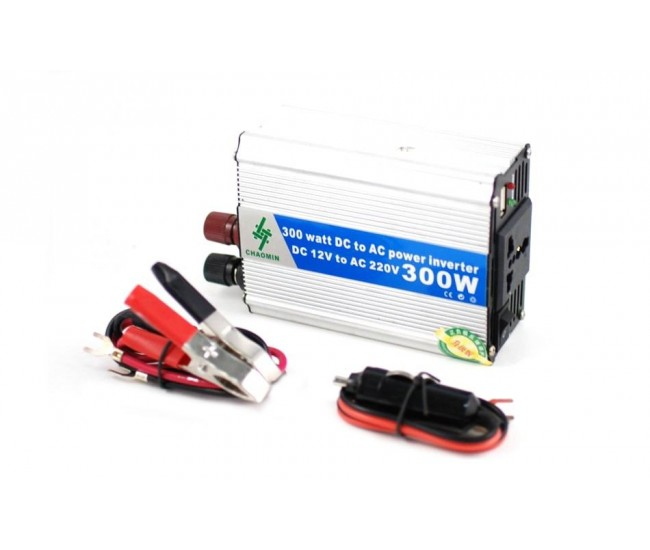 Invertor auto 300W Chaomin 12V - 220V cu iesire USB