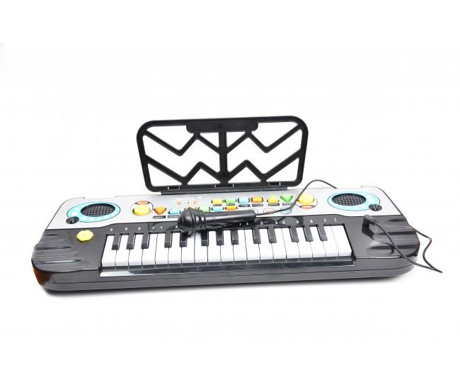 Mini orga de jucarie pentru copii cu sunete si muzica - 3202A