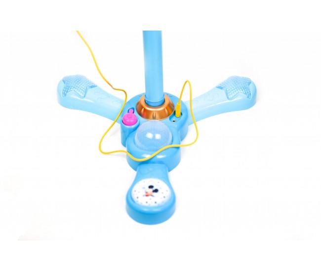 Microfon de jucarie Mickey Mouse pentru copii, conectare cu sunete si lumini - MM8824
