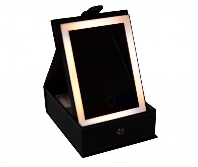 Oglinda cu lumina LED pentru machiaj si bijuterii D8MACHIAJ