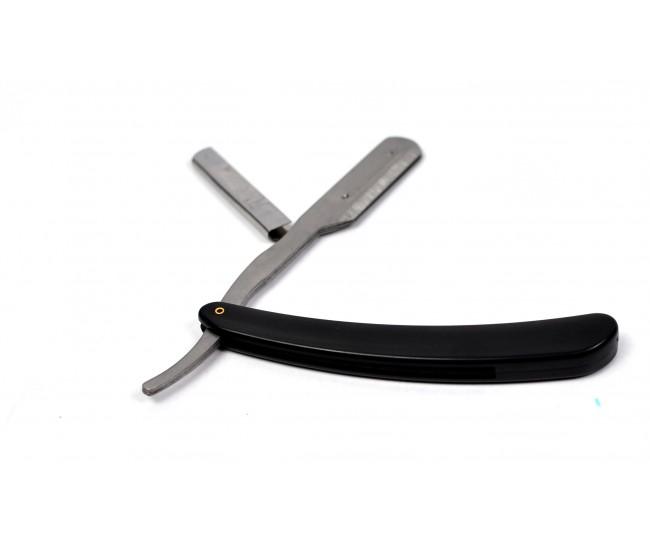 Brici pentru barbierit din otel inoxidabil cu maner de plastic K009