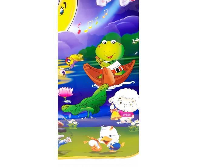 Covor muzical de jucarie pentru copii cu melodii si lumini - Magic Night YQ2981