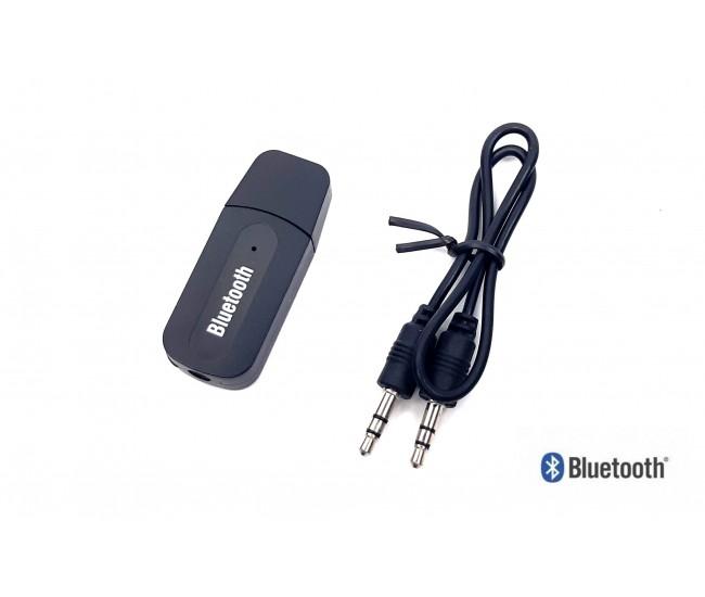 Receptor Bluetooth auto cu USB pentru masina - Conectare prin wireless la sistemul audio, boxa etc...