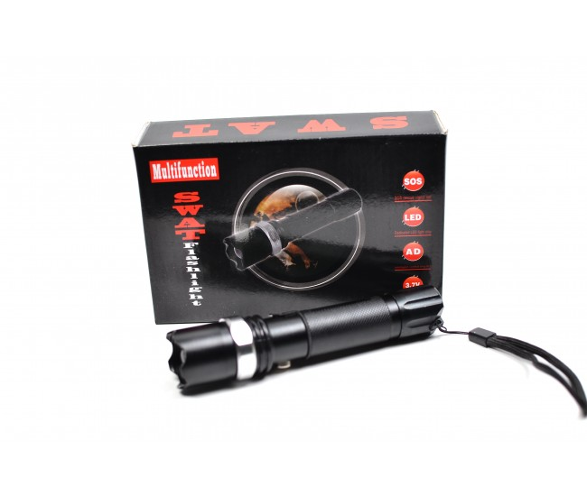 Lanterna profesionala reincarcabila din aluminiu waterproof DORSW01