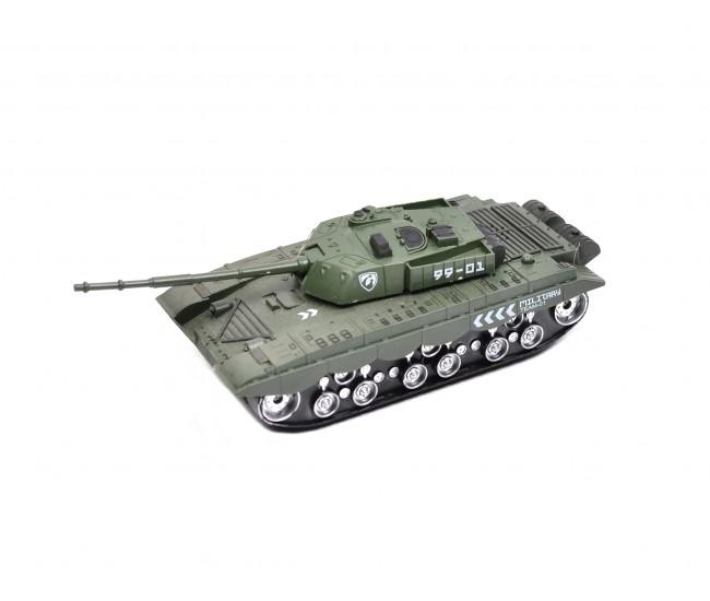 Tanc de jucarie cu telecomanda, pentru copii,  control de la distanta - 3694V