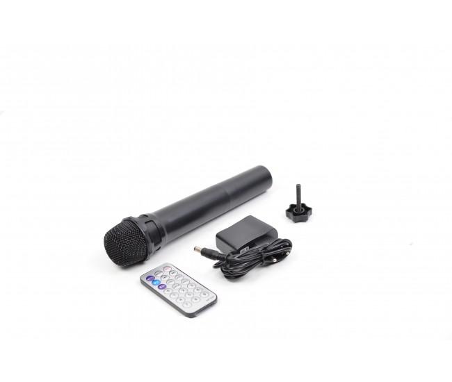 Boxa Portabila Activa bluetooth, cu led-uri si USB/SD CARD, RADIO FM - SPF8