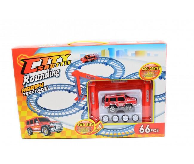Traseu Citty Shuttle, ideal pentru baieteii pasionati de masinute! - JY557