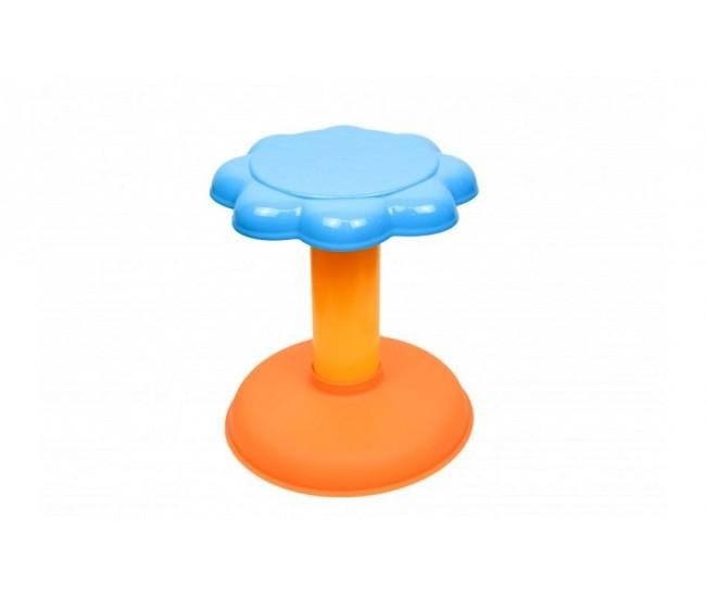 Orga de jucarie cu scaunel si microfon pentru copii, 3 octave, sunete si lumini - 6617A