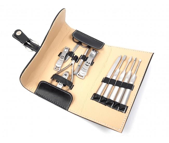 Trusa profesionala manichiura Lila Rossa, 11 piese, model TM11P-B