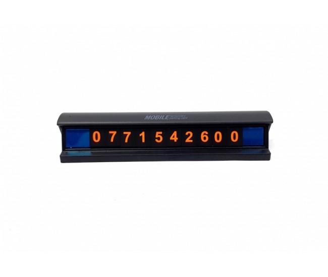 Suport magnetic numar de telefon parbriz masina SUPORT012 Auto