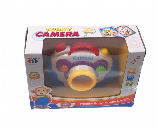 Aparat foto Funny camera cu sunete si lumini 88079