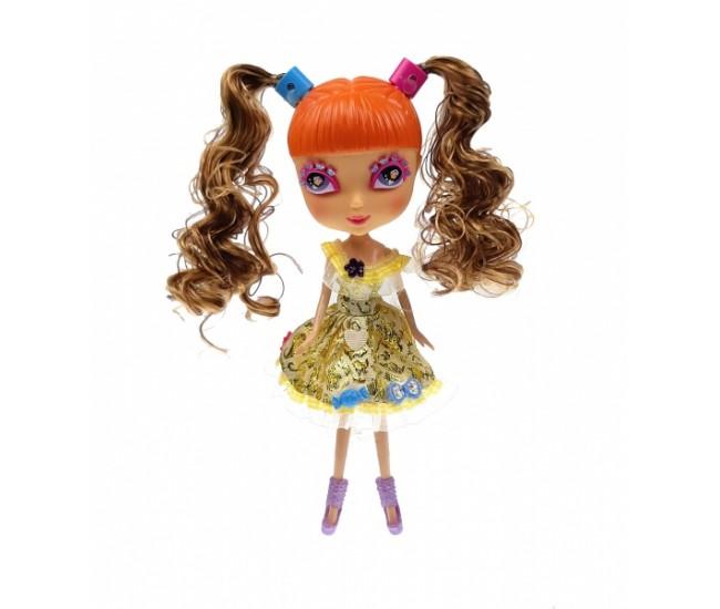 Papusa de jucarie Monica, cu accesorii - BQ068