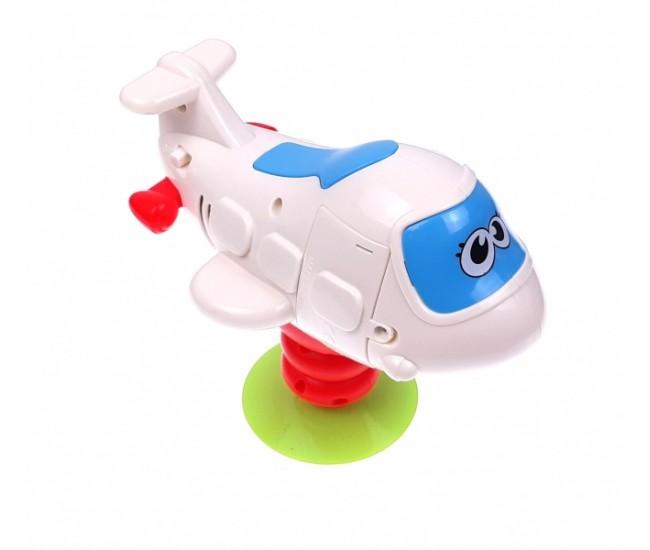 Avion de jucarie cu sunete si lumini - 999139B