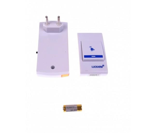 Sonerie la prizaWireless cu lumini si baterii LUCKARM 8205