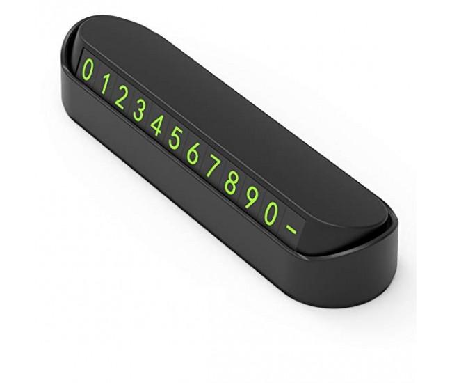 Suport numar de telefon pentru parbriz masina SUPORT139