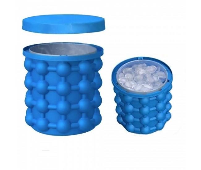 Frapiera gheata din silicon si forma pentru cuburi de gheata 2 in 1 - ICE139