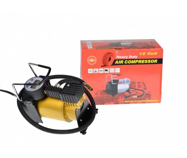 Compresor auto cu manometru digital, pentru SUV, autobuz, camion, 35l/min 62111DIGITAL