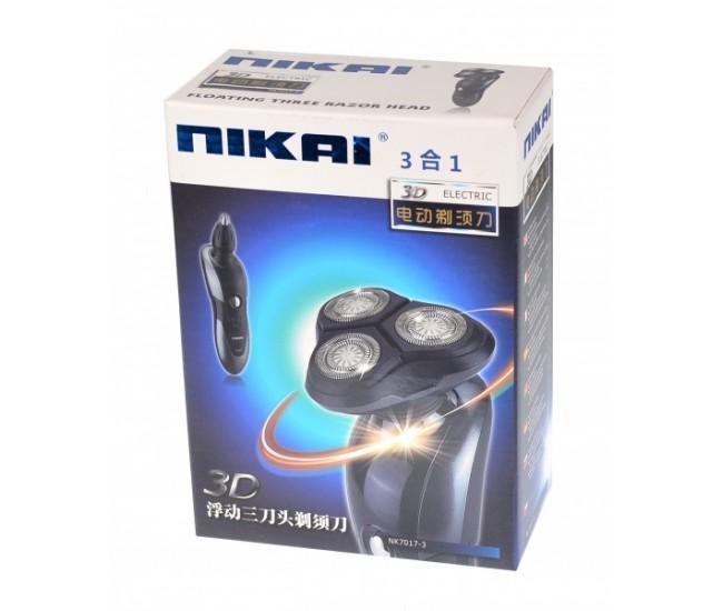 Aparat electric de ras Nikai 3D ( 3 IN 1 ) - NK70173