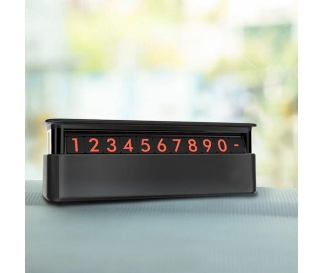Suport numar de telefon pentru auto, parcare SUPORT123