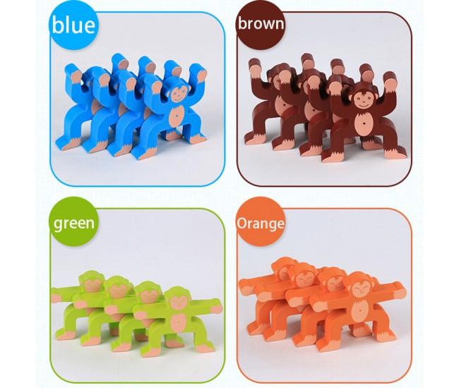 Joc de indemanare, maimute acrobate, Monkey Balance - KABI0041