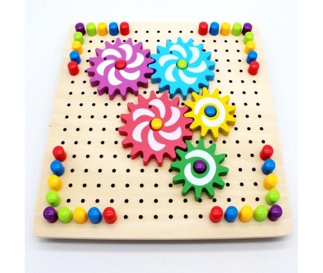 Puzzle creativ cu piese rotative - 1103092MIC