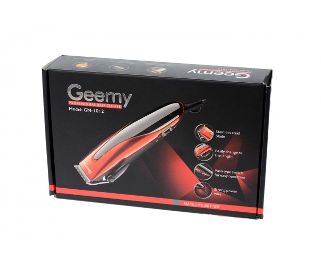 Masina profesionala de tuns cu cablu si accesorii, Geemy GM1012