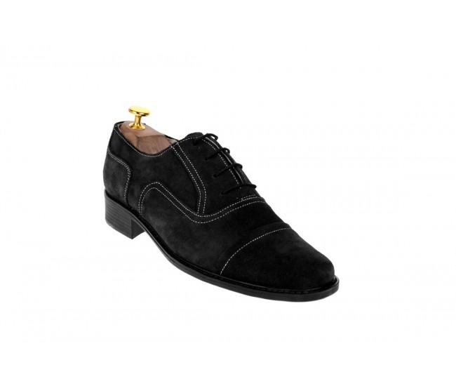 Pantofi barbati piele naturala (Intoarsa) casual-eleganti